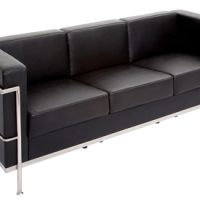 3 Seater Black-Lounge