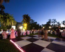 Dance Floor With Pro Floor & Snake Light Edging