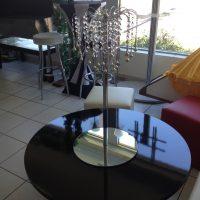 teardrop chandelier