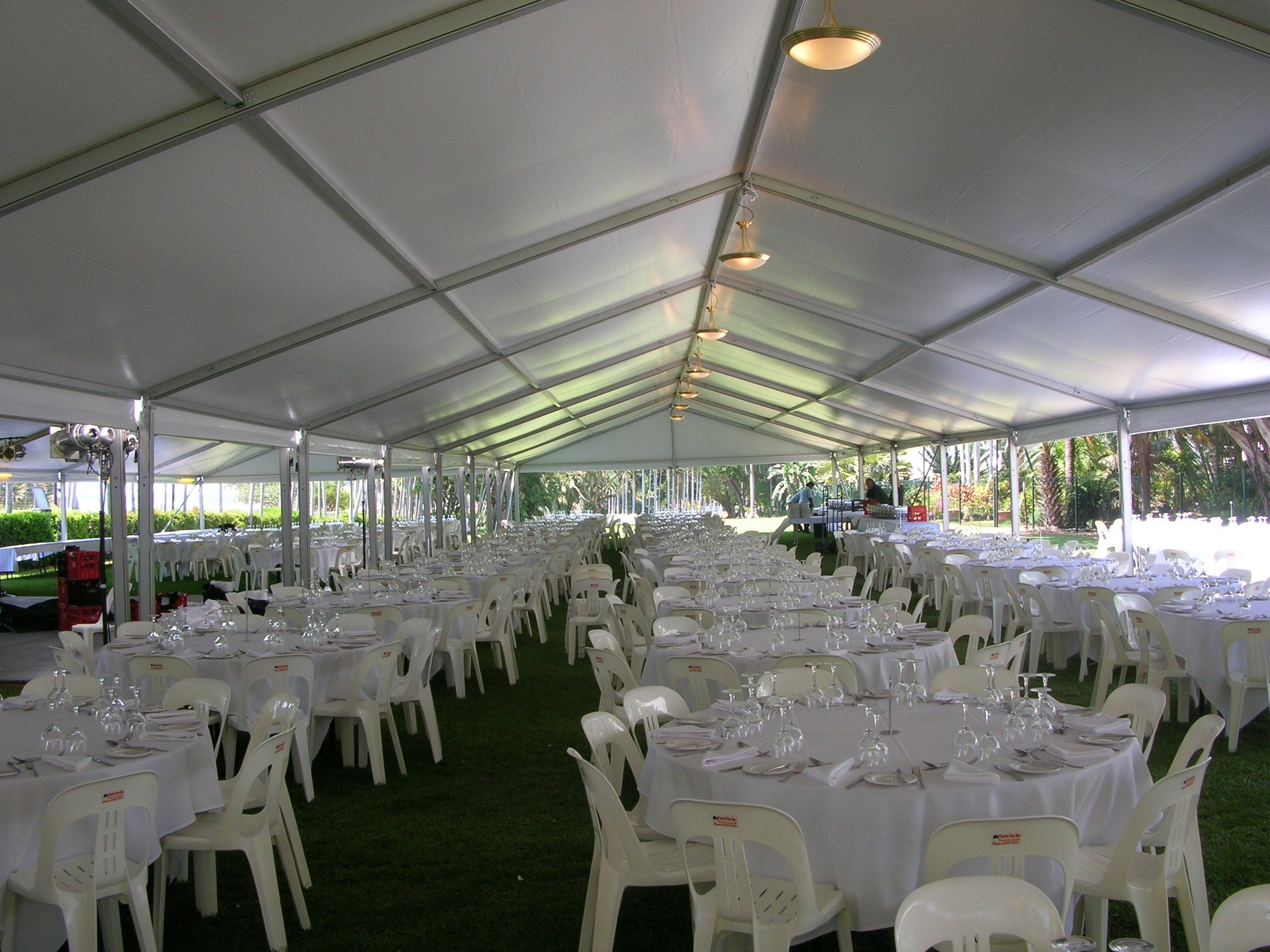 sky city event setup