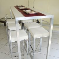 Rectangle Bar Table & Stools