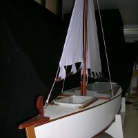 Seafood Server- Sailing Boat