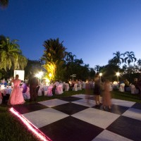 Dance Floor with Pro Floor and Rope Light Edging