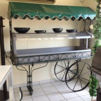 Salad Bar Wagon