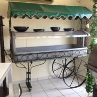 salad bar wagon