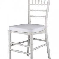 white tiffany chair